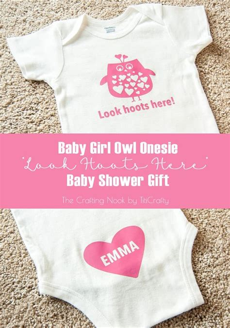Owl Baby Shower Gifts by Baby Owl Onesie Baby Shower Gift Contributor Cami