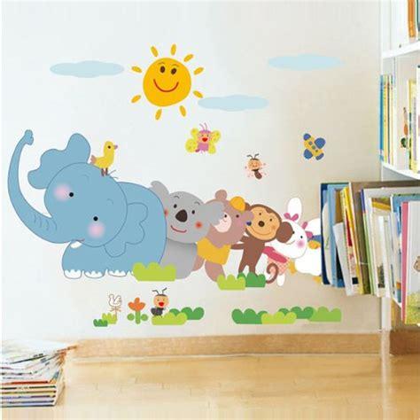 Wandtattoo Kinderzimmer Tiere by Wandsticker Kinderzimmer Tiere Haus Ideen