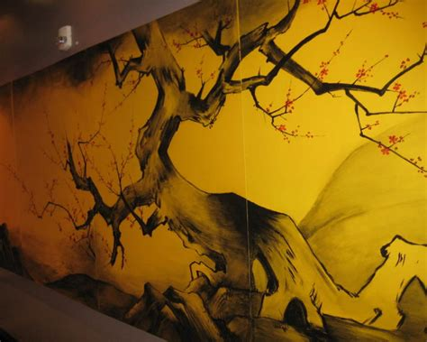 asian wall mural outside murals ideas best wallpaper background