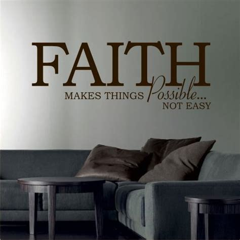 Living Room Furniture Quotes Faith Wall Sticker Quote Decal Lounge Bedroom Living
