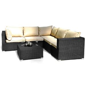 Es London Patio Corner Sofa Group Patio Furniture Garden