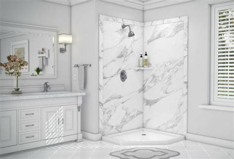 Simulated Marble Shower Walls by Custom Shower Wall Panels 5 Things Nobody Tells You That You Need To