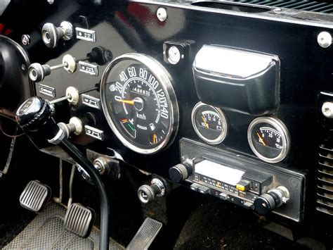 Dashboard Jeep
