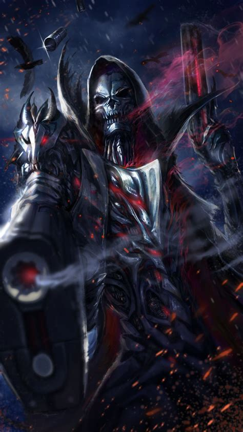 download game android reaper mod cool grim reaper live wallpaper android live wallpapers