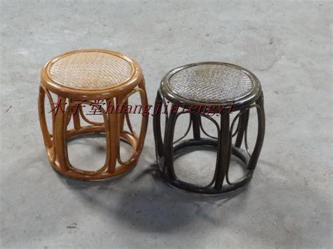 rattan stool rattan chair change a shoe stool drum shaped
