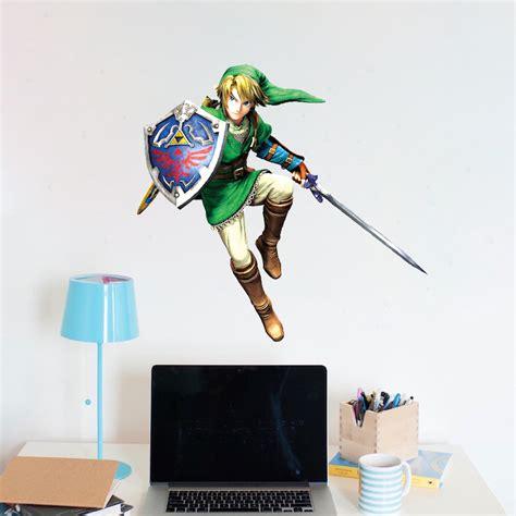 Zelda Wall Mural zelda video game room wall decal decor zelda bedroom