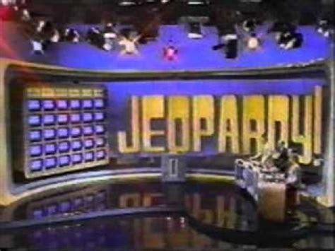 jeopardy theme music youtube jeopardy theme 1984 1991 youtube