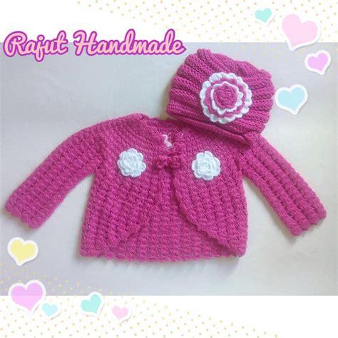 Baju Bayi Rajut Jual Baju Bayi Perempuan Bolero Rajut Magenta