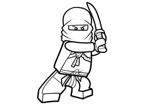 coloring page of ninja ninja lego coloring pages colouring pages pinterest