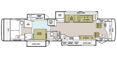 phaeton qbh floor plan specs for 2011 tiffin phaeton 42 qbh rvs rvusa