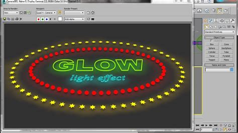 Glow Max 3ds max glow shader