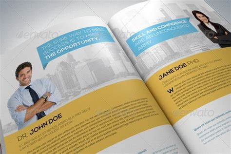 doc 520347 20 awesome corporate brochure templates
