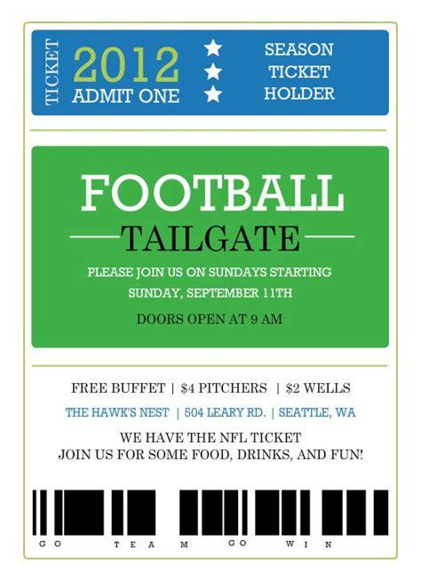 Free Football Invitations Templates Football Banquet Invitation Template