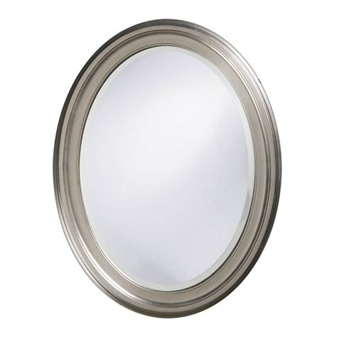 spiegelschrank oval shop dillon george brushed nickel beveled oval wall