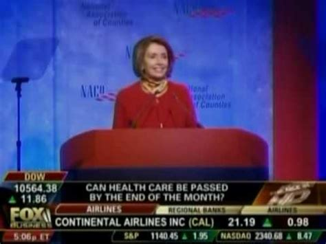 the context behind nancy pelosis famous we have to pass nancy pelosi paranoid political democrat hack speaker of