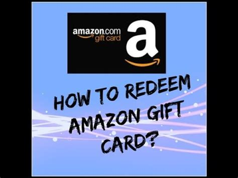 How To Redeem Gift Cards On Amazon - how to redeem amazon india gift card hindi youtube