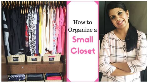Organise Small Wardrobe by How To Organize A Small Closet Closet Organization Ideas