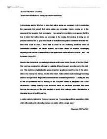 Governance Essay Social Studies by International Relations Essay Social Studies Marked By Teachers