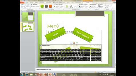 tutorial de powerpoint 2010 hipervinculos botones de acci 243 n e hiperv 237 nculos 2010 presentaci 243 n