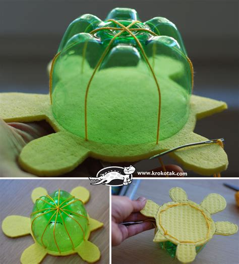 diy turtle toys  recycled plastic bottles