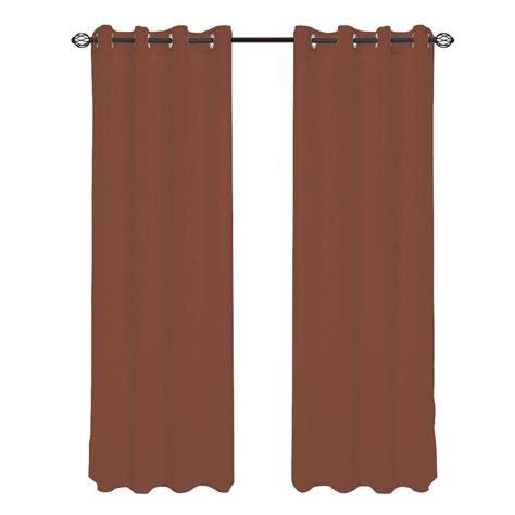 grommet curtains 108 length lavish home brown mia jacquard grommet curtain panel 108