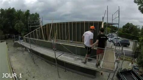 garage construction bois construction d un garage ossature bois