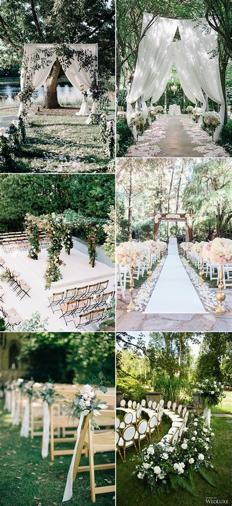 garden decorations ideas 25 brilliant garden wedding decoration ideas for 2018