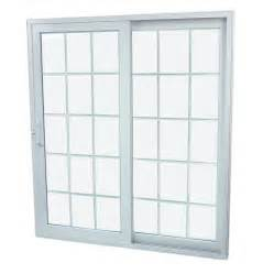 Patio Doors Lowes Shop Securaseal 71 In Low E Argon Grilles Between Glass