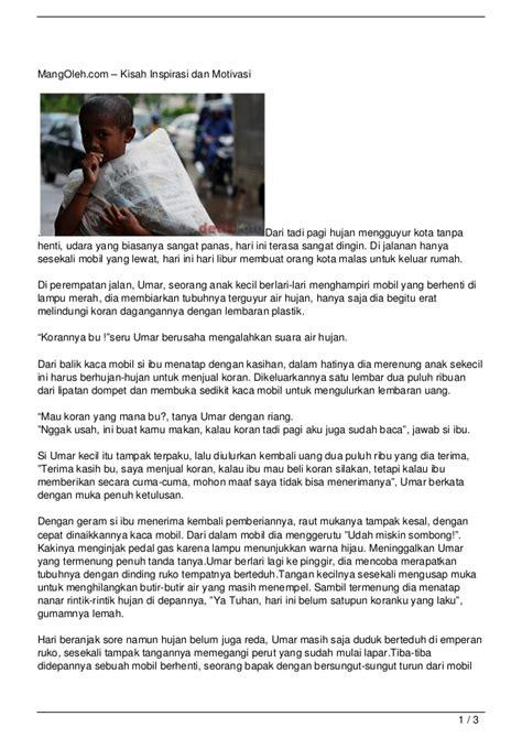 film motivasi dari kisah nyata pesan hidup dari bocah penjual koran kisah inspirasi dan