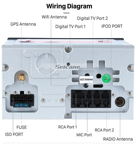 pioneer car stereo wiring diagram