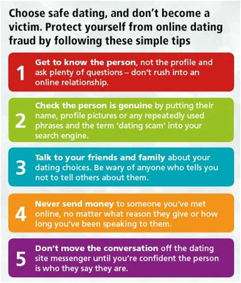 5 Important Tips For Safe Dating by Dating Site Safety Tips