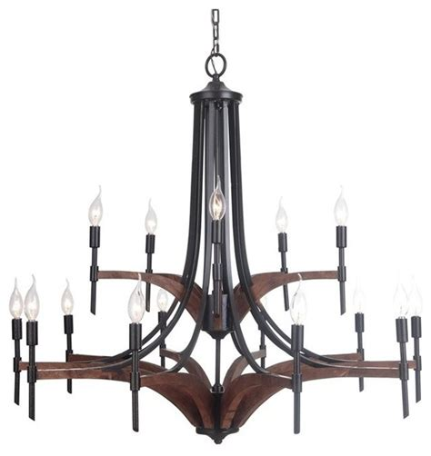 Whiskey Barrel Chandelier Jeremiah Tahoe 15 Light Chandelier Espresso Whiskey Barrel 40315 Espwb Rustic Chandeliers