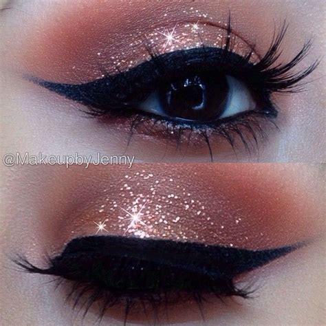 Eyeshadow Glitter Make A Collection Of 40 Best Glitter Makeup Tutorials And Ideas