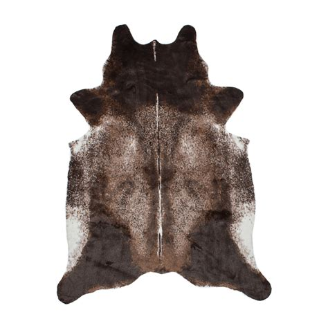 faux cowhide rug wholesale el paso brown faux cowhide rug ecarpet gallery touch of modern