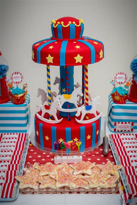 carnival themed birthday decorations kara s ideas circus carnival themed birthday