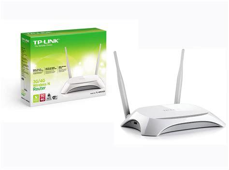 Router Wifi 3g 4g Tp Link Mr3420 jual tp link tl mr3420 router 3g 4g dua antena solusi