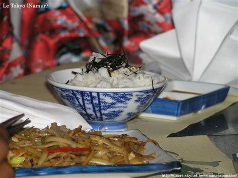 cuisine japonaise calories la cuisine japonaise portail recettes photos et