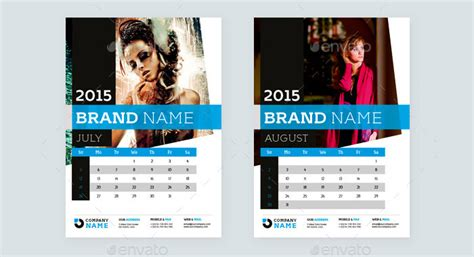 40  Sample 2015 Calendar Templates & Designs Free   Free