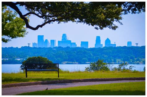 white rock lake park dallas skyline from white rock lake park i m sure there ar flickr