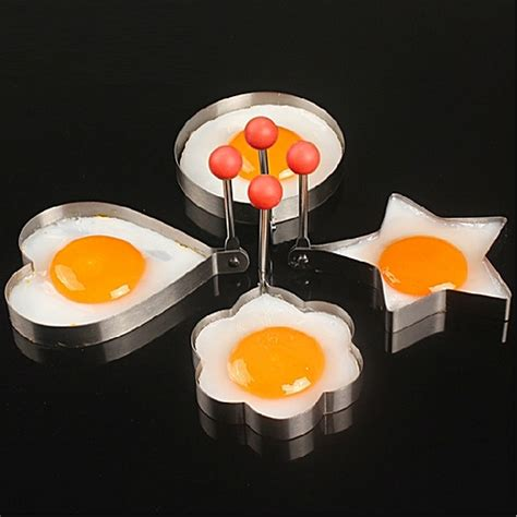 Stainless Steel Fried Egg Mold stainless steel fried egg mold kitchen cooking tool with