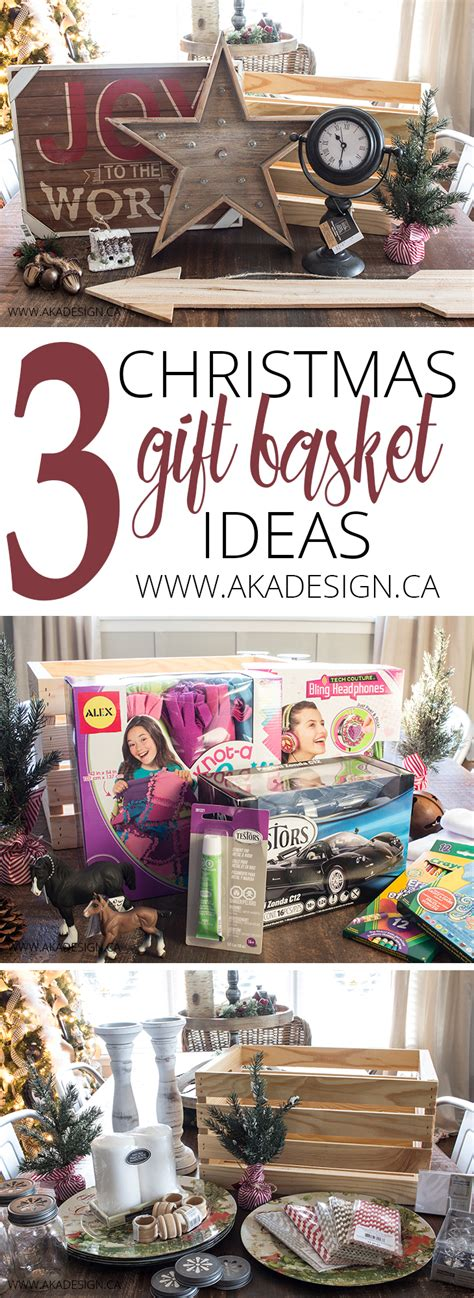 3 christmas gift basket ideas that people will actually love