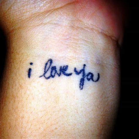 i love you tattoos 50 beautiful i you tattoos