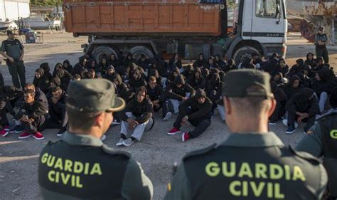 Anger In Spain At Migrant Models by Mps Plan To Address Conference Calling To Ditch The