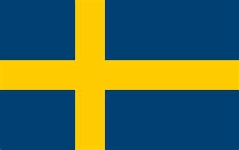 swedish colors flag of sweden clip art at clker com vector clip art