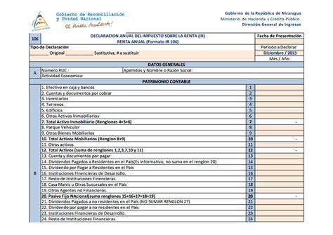 llenado de declaracion rif 2016 formato de declaracion anual formato de declaracion