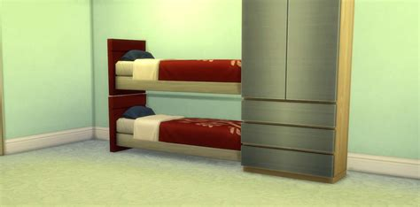 how to build bunk beds the sims 4 building using build mode cheats