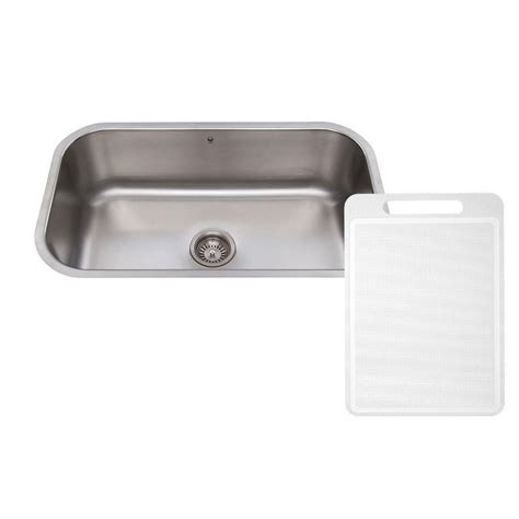 stainless steel undermount kitchen sinks single bowl vigo undermount stainless steel 30 in single bowl kitchen