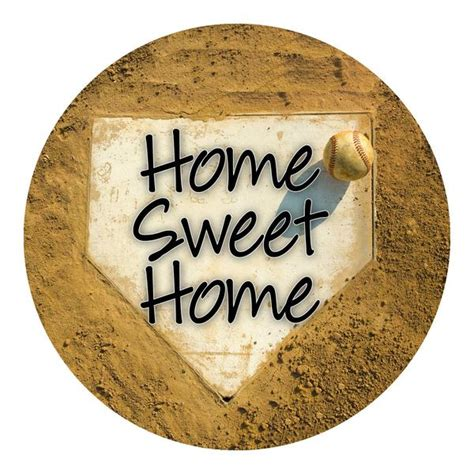 Sticker Wallpaper Dinding Welcome Sweet Home home sweet home baseball sticker shut the front door by unique textile printing