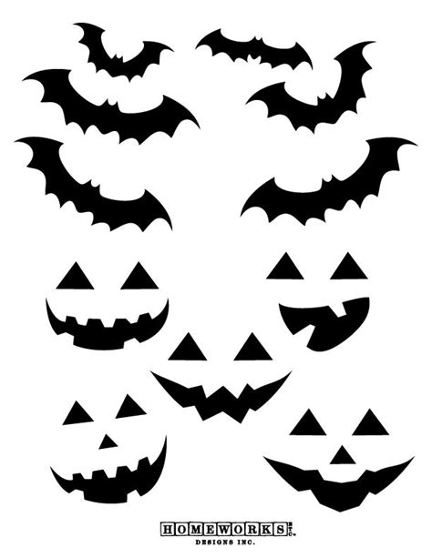 free printable halloween decorations templates 235 best free halloween printables images on pinterest