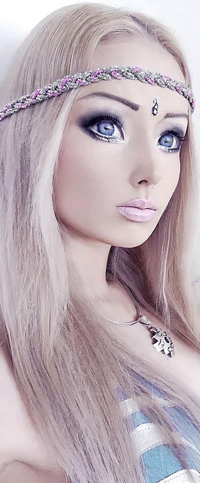human barbie doll eyes human barbie doll valeria lukyanova poses for v magazine